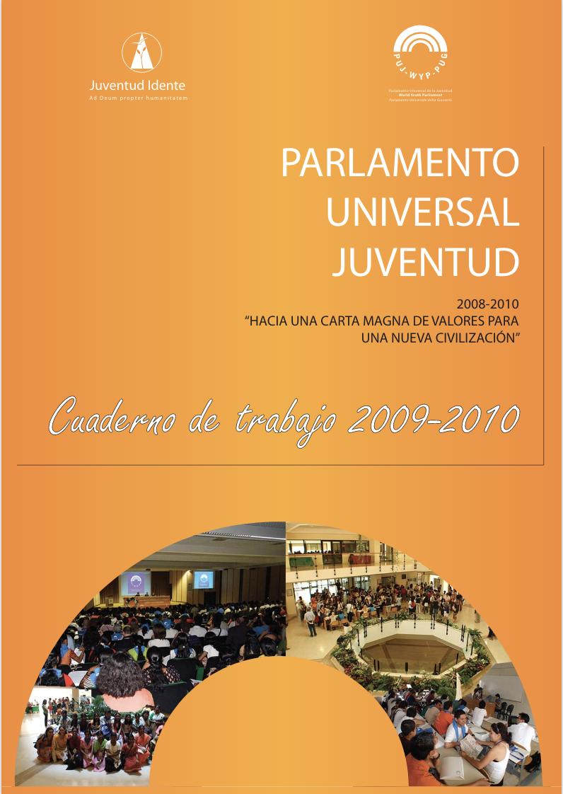Cuaderno de trabajo 2008-2010